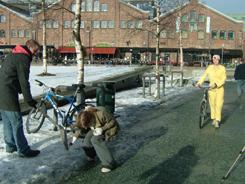 street scene for FILMSTUNT