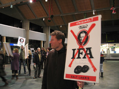 IFA action by Kristin Tarnes